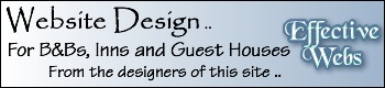 Website Designers for Accommodation websites - BBs, Inns and Guest Houses